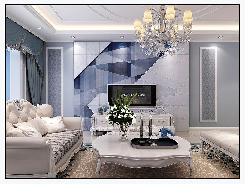 客厅电视背景墙设计让客厅装修更亮眼